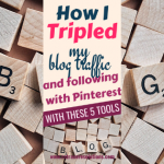 How I tripled My Pinterest Following and Blog Traffic