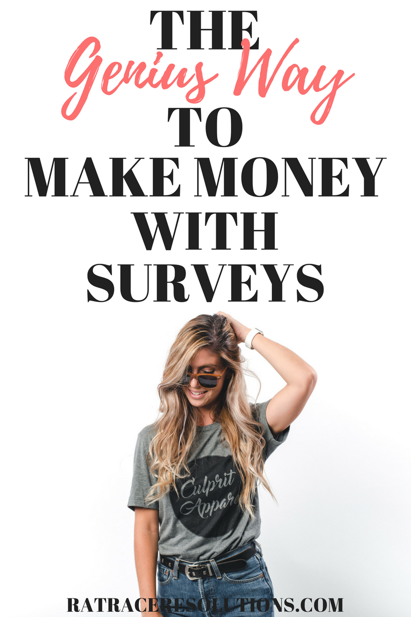 The Genius Way to Make Money with Surveys