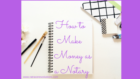 how to make money as a notary public