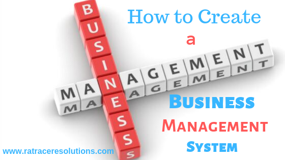 how to create a business management system