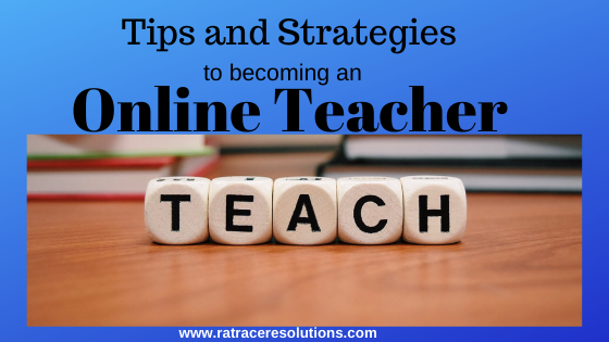 steps for online teaching
