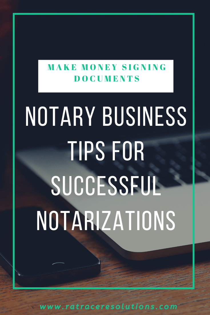 tips for notaries