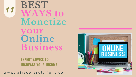 how to monetize a online business